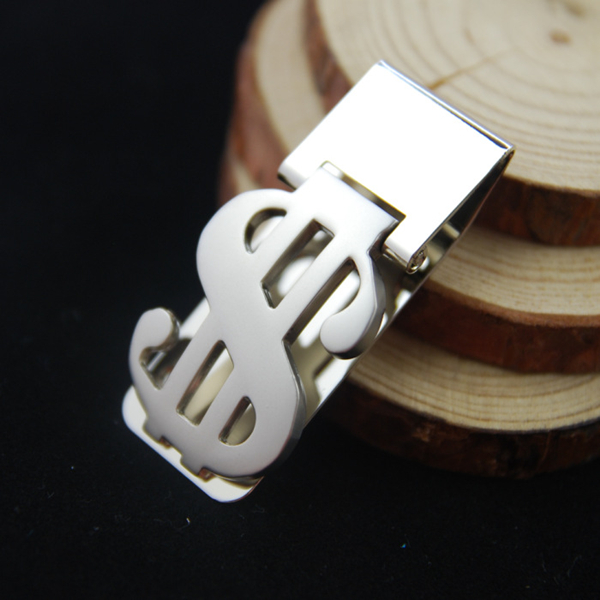 Mens Fashion Style Jewelry Dollar Design Money Clip