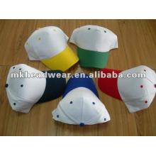 Cheap promotion sport cap in colorful peak