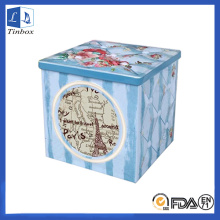 Square Storage Tin Box For Watches