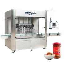 Automatic Chili Beef Sauce Bottle Filling Machine