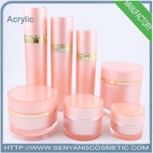 2015 new cosmetic bottles acrylic jars container, acrylic lotion bottles container
