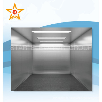 Freight Elevator with Hairline Finition en acier inoxydable Xr-H04