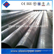 6inch hollow round section welded steel pipe with best price