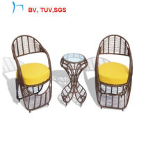 2016 Rattan Coffee Table Chair with Cushion