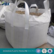 Bolsas a granel revestidas de pe de 1 tonelada ultra resistentes para bolsa gigante de concentrado de cobre