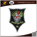 Customized High Quality School Uniform Woven Badge with Iron Backing
