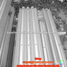 Galvanized highway Thrice-beam corrugated beam barrier(Manufacture)