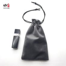 Plain exquisite velvet cosmetic bag