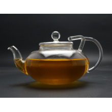 Purely Handwork 400ml Heat Resistant Glass Teapots with Infuser