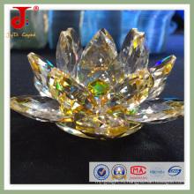 Красивый Кристалл цветок лотоса (СД-Ср-308)