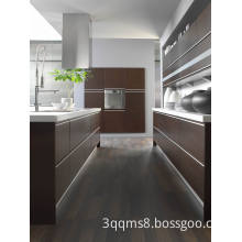 Oak Natural Wood Veneer Kitchen Cabinetry Manufacturer in Xiamen, China