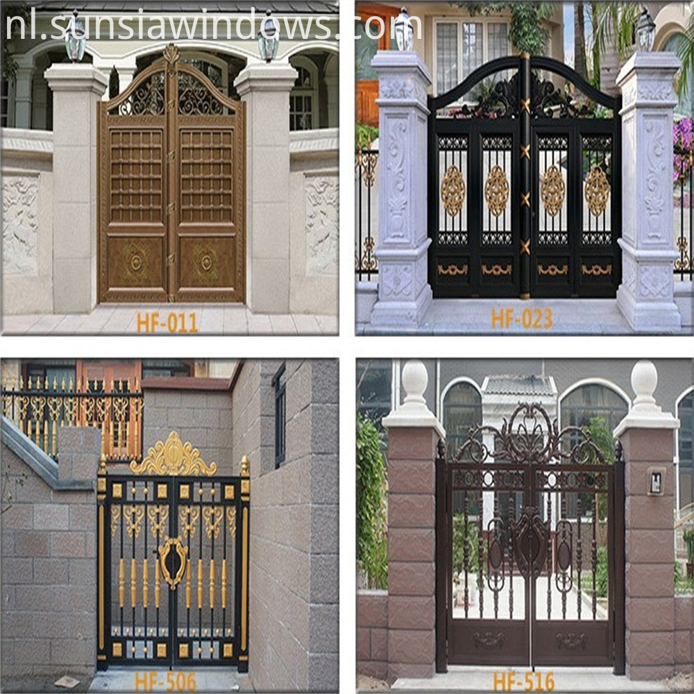 more styles of Front Garden gate