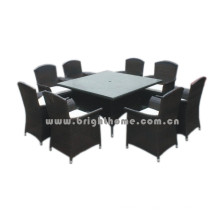 Rattan Weaving Wicker Outdoor Furniture Dining Set Bg-Mt019