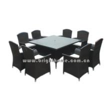 Отдых обеденный комплект Открытый Плетеная мебель Bg-Mt020