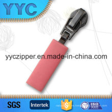 Deslizador de goma decorativo de calidad superior para cremallera