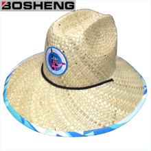 Wholesale Cheap Wide Brim Trimmed Straw Panama Hat