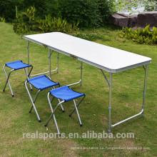 Mesa plegable plegable de estilo nuevo Mesa plegable plegable de mesa de estilo nuevo