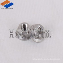 titanium hex locking nuts with nylon ring
