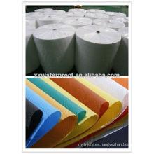 Membrana impermeable de la tela no tejida colorida de los PP