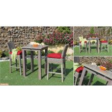 KANARISCHE KOLLEKTION - Meistverkaufte Poly PE Rattan Bar Set Tisch und 2 Stühle Outdoor Gartenmöbel
