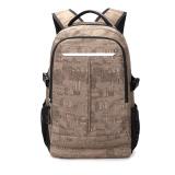 14.1 inch Canvas tablet travel backpack bag, sublimation school laptop brief pack schoolbag rucksack, notebook computer daypack
