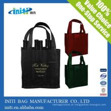 China moda promocional saco de viagem personalizado com titular garrafa de água