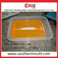 Boîte de rangement en plastique injectée usée / Moule à conteneur