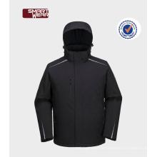 Factory-Workwear wasserdichte Softshell-Jacke mit Kapuze