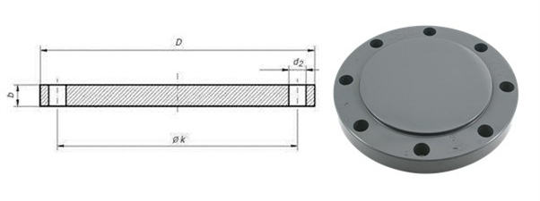EN 1092-1 TYPE 05 BLIND FLANGE