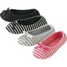 Chaussures d'intérieur confortables pour femmes pour garder la pantoufle femme chaude