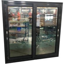 Hot Sale 80 Series Black Color of Aluminum Sliding Window