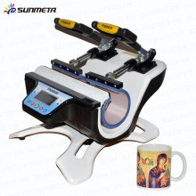 Sublimation Double Mug Heat Transfer Machine