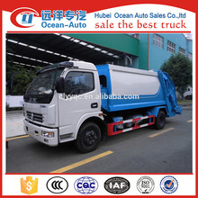 8CBM small garbage compactor vehicle