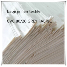 CVC Classic First 20 20 Woven Grey Fabric