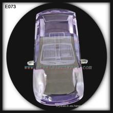 Regalo de boda de cristal decoración coche modelo cristal