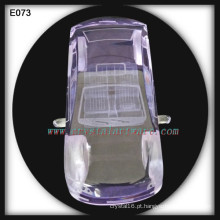 Presente de casamento decoração cristal carro modelo cristal