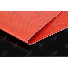 Tissu en fibre de verre revêtu de silicone à deux côtés