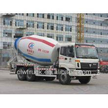 FOTON camión hormigonera para la venta, 6X4 Camión hormigonera para camiones en Perú Mercado