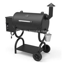 Outdoor Wood Pellet Grill 7-in-1 BBQ Smoker