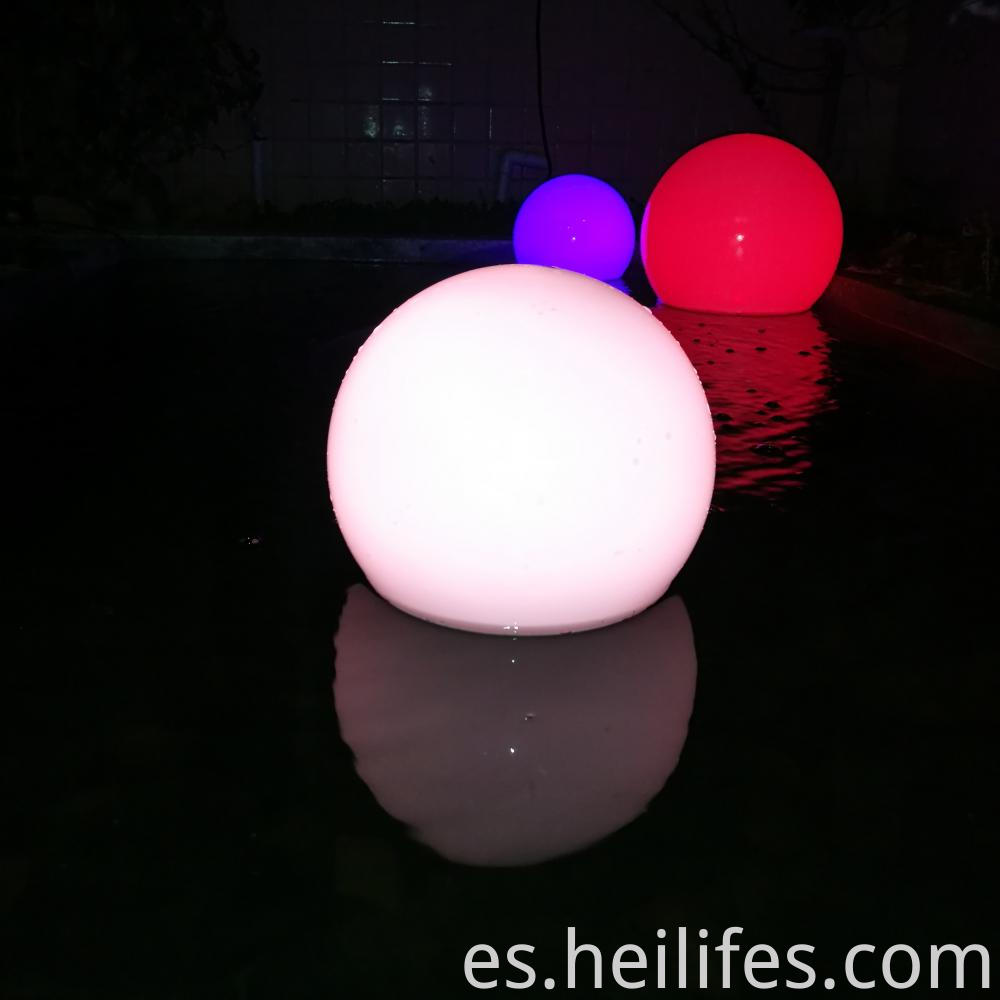 LED Color Changing Waterproof Outdoor Light Ball