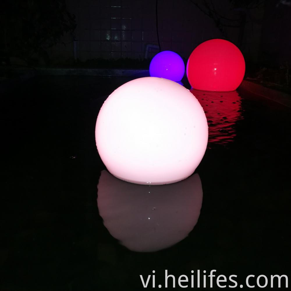 Floating Water LED light ball