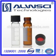 2ml 8-425 ámbar hplc vial con etiqueta