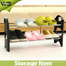 DIY складной простой стенд обуви недорогой узкий шкаф ботинка