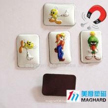 3D embossed soft pvc fridge magnet