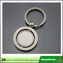 Metal Round Shape Custom Logo Key Chain