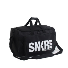 Waterproof Nylon Outdoor Luggage Bag Large Capacity Folding Duffle Bag with Sneaker Compartments Gym Sport Travel Bag
