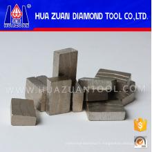 Bouts de diamant de coupe de pierre de 40X6.5 / 7.5X15mm