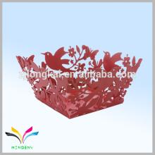 De China voa pássaro vermelho organizador de mesa exibe doce papelaria elegante na China