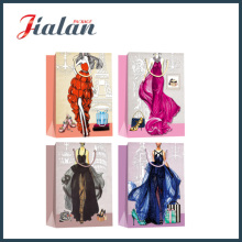 Fashion Lady′s Evening Dress Hand Shopping Package Gift Paper Bag