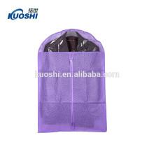 Maison robe vêtements non tissé vêtement sac avec fermeture à glissière